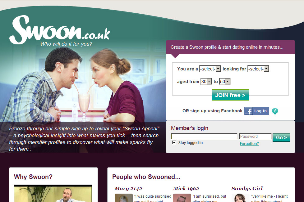 Swoon dating website is the rock dating anyone